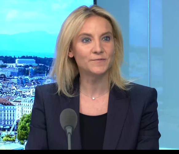 céline Amaudruz, présidente UDC Genève