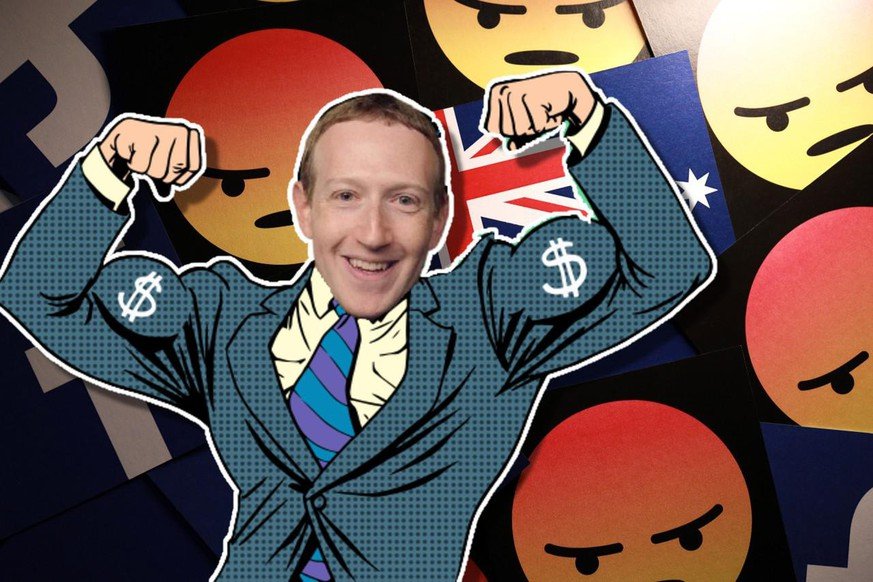 Mark Zuckerberg, Facebook, Australie