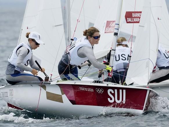Maja Siegenthaler et Linda Fahrni toujours dans le copup.