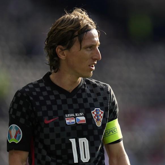 Luka Modric et la Croatie: il faut maintenant battre l'Ecosse.