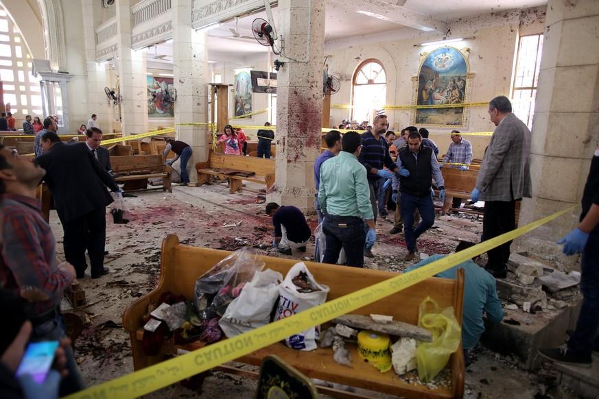 Ägypten verhängt nach den Anschlägen den Ausnahmezustand