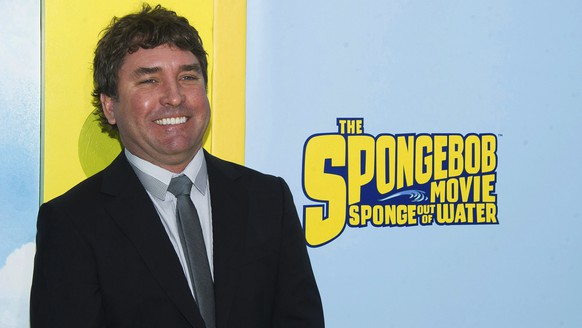 FILE - In this Saturday, Jan. 31, 2015, file photo, Stephen Hillenburg attends the world premiere of
