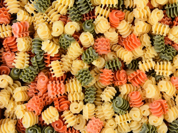 radiatori tricolori pasta italia food essen