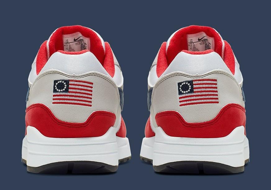 USA: Nike stoppt den Schuh «Air Max 1 USA» wegen umstrittener Flagge ...