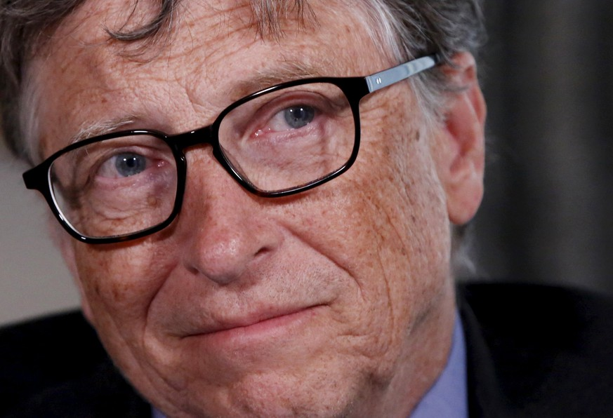 Microsoft co-founder Bill Gates listens to a question during an interview in New York February 22, 2016. The Bill and Melinda Gates Foundation has turned its attention to the Zika virus outbreak, and its founders said the response to the crisis, which may be linked to devastating birth defects in South America, has been better than for the 2014 Ebola outbreak in Africa. REUTERS/Shannon Stapleton