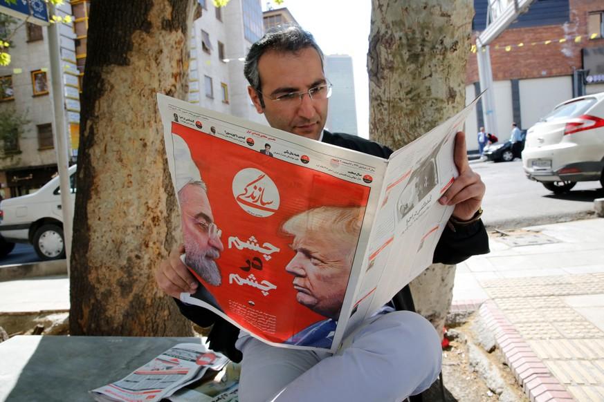 Öl aus dem Iran: Trump fordert Import-Stopp und droht mit Sanktionen