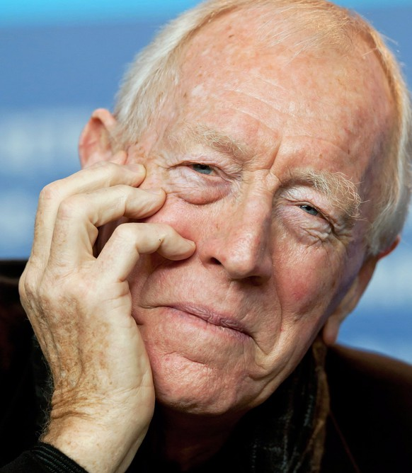 epa08280764 (FILE) - Swedish-born actor Max von Sydow attends a press conference for 'Extremely Loud And Incredibly Close' during the 62nd Berlin International Film Festival, in Berlin, Germany, 10 February 2012 (reissued 09 March 2020). According to media reports, Von Sydow has died on 08 March 2020 at the age of 90.  EPA/TIM BRAKEMEIER  GERMANY OUT *** Local Caption *** 50211080