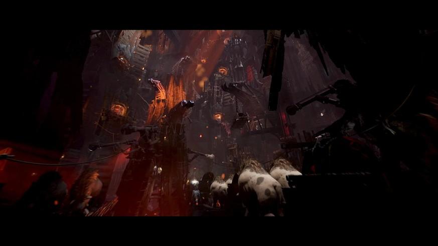 Das Gefängnis von Barad-dûr ist nur eine der Stationen im Spiel.