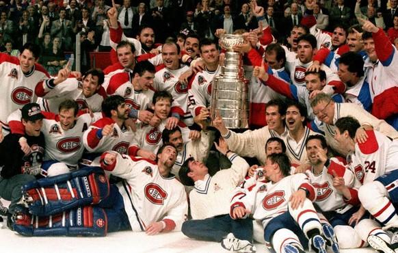 Montreal Canadiens: 24 Stanley-Cup-Triumphe, zuletzt 1993.