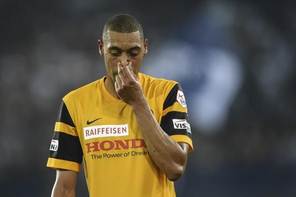 18.07.2015; Zuerich; Fussball Super League - FC Zuerich - BSC Young Boys Bern;Guillaume Hoarau (YB) (Andy Mueller/freshfocus)