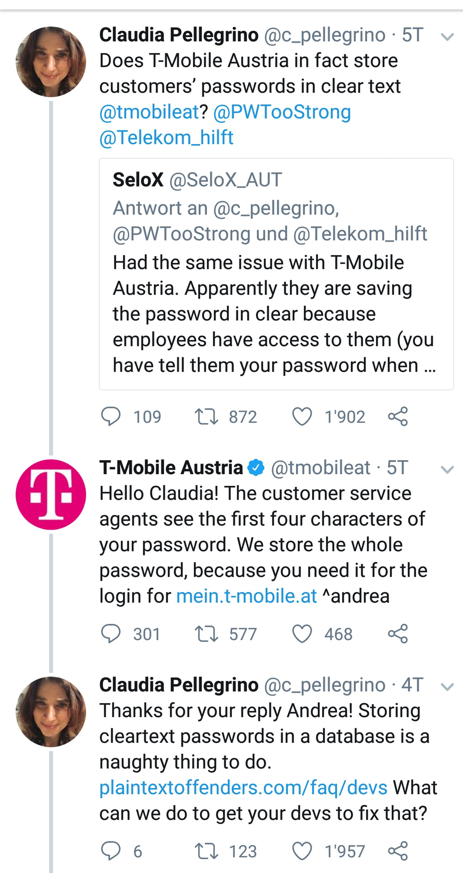 T Mobile Password Requirements