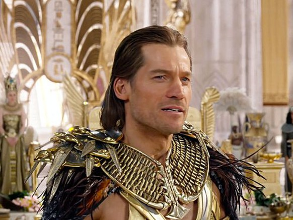 Filmstill - Editorial Use Only USA. Nikolaj Coster-Waldau in a scene from the ©Summit Entertainment new movie: Gods of Egypt (2015).Plot: A common thief joins a mythical god on a quest through Egypt.Ref: LMK110-58675-181115 Editorial Only.Landmark Media is not the copyright owner of these Film or TV stills but provides a service only for recognised Media outlets. Filmstill // HANDOUT / EDITORIAL USE ONLY! / MAY NOT BE PUBLISHED IN BOOKS AND ILLUSTRATED BOOKS! Please note: Fees charged by the agency are for the agency?s services only, and do not, nor are they intended to, convey to the user any ownership of Copyright or License in the material. The agency does not claim any ownership including but not limited to Copyright or License in the attached material. By publishing this material you expressly agree to indemnify and to hold the agency and its directors, shareholders and employees harmless from any loss, claims, damages, demands, expenses (including legal fees), or any causes of action or allegation against the agency arising out of or connected in any way with publication of the material.
