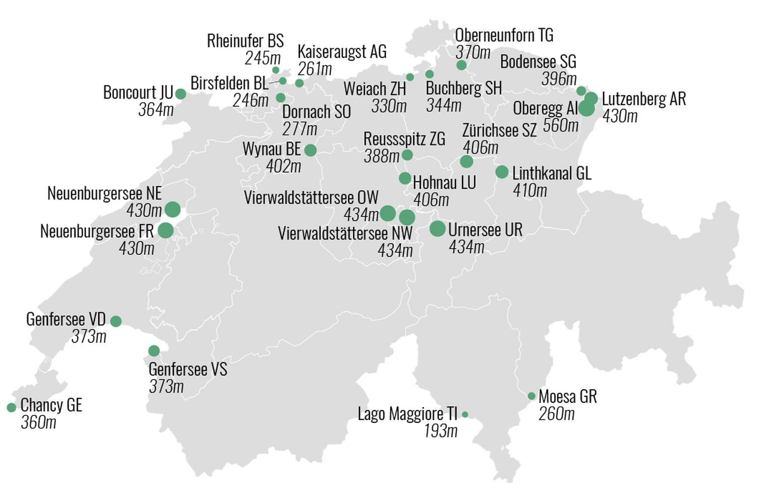 Bodensee Karte Schweiz.11 Schweizerkarten So Kennst Du Die Schweiz Noch Nicht