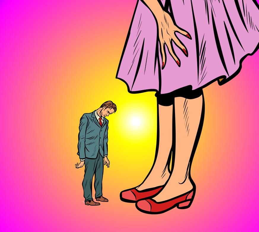 Männer kleine große frauen Partnersuche: Männer