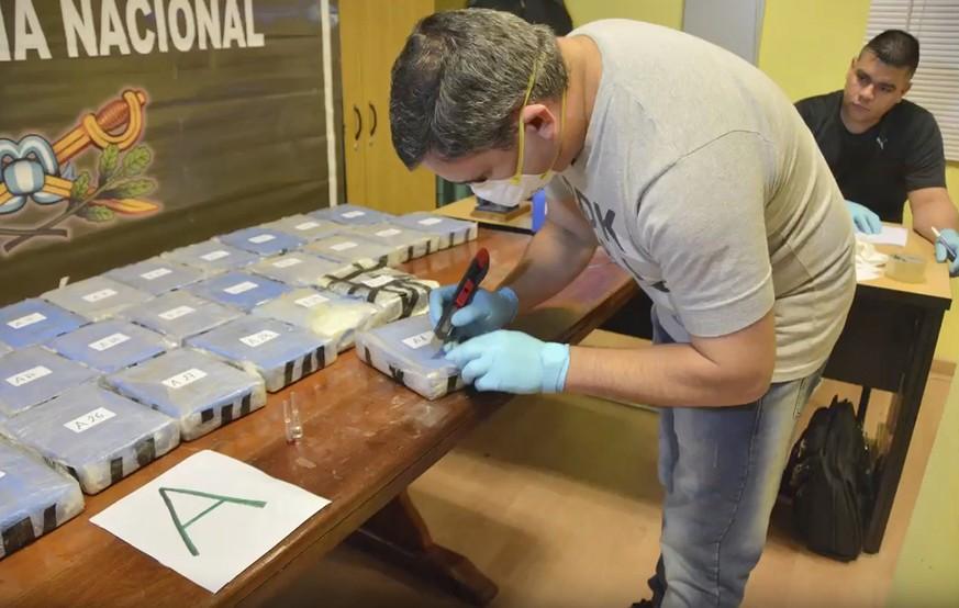 Polizei findet in russischer Botschaft 400 Kilo Kokain
