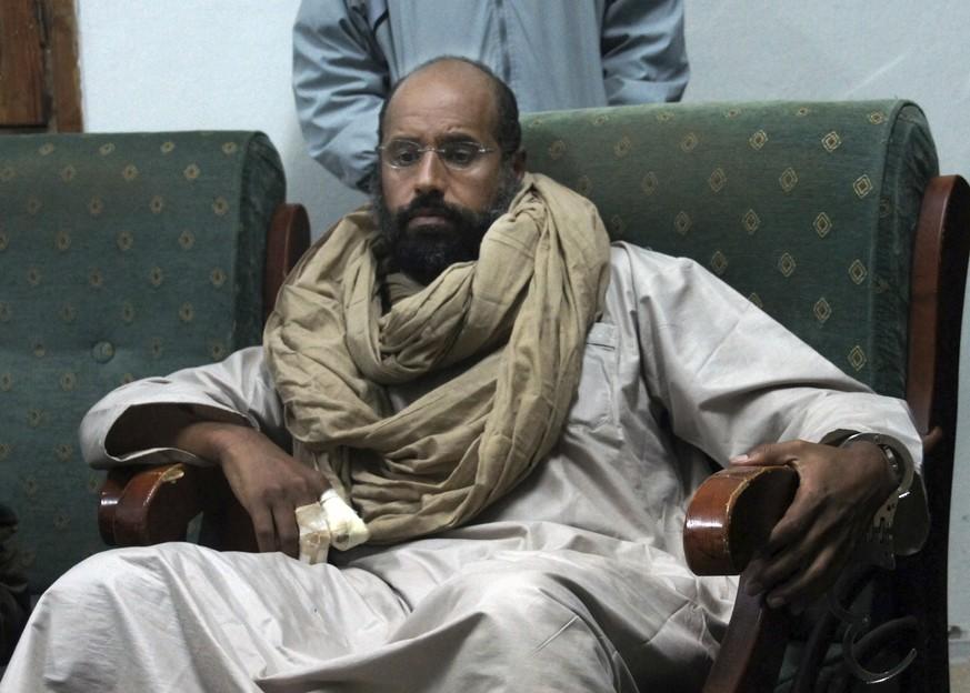 Gaddafi-Sohn nach Medienberichten aus Haft entlassen
