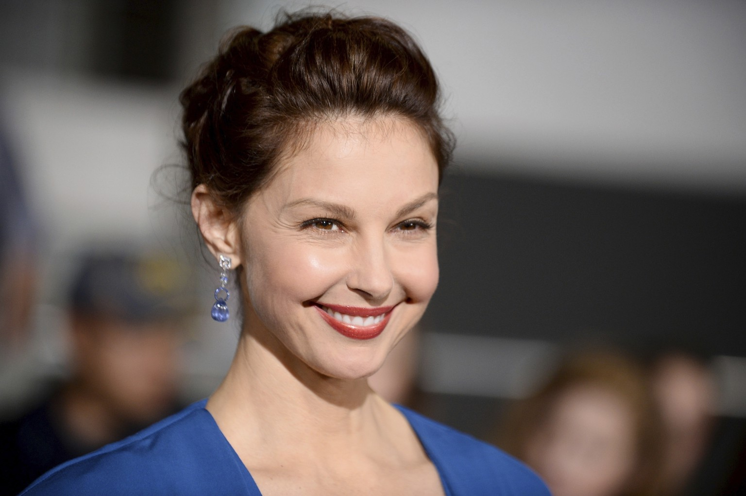 FILE - In this March 18, 2014, file photo, Ashley Judd arrives at the world premiere of