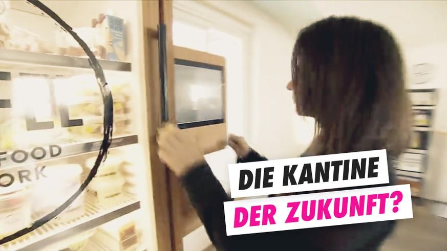 Ersetzen digitale Selbstbedienungs-Kühlschränke die Kantine? - watson