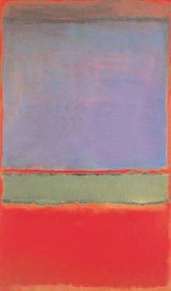 Mark Rothko, No. 6 (Violet, Green and Red)