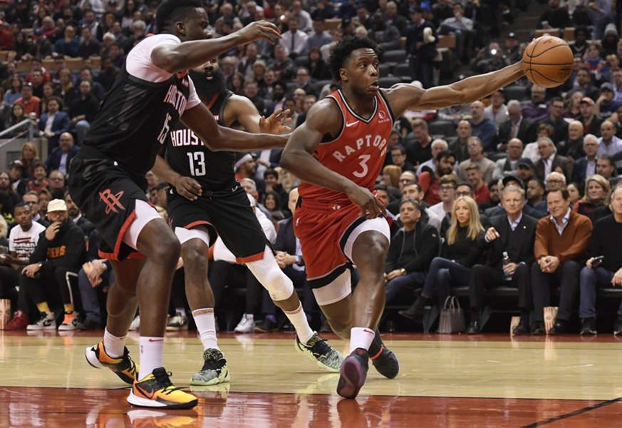 Sport-News: Houston Rockets siegen beim Champion Toronto Raptors