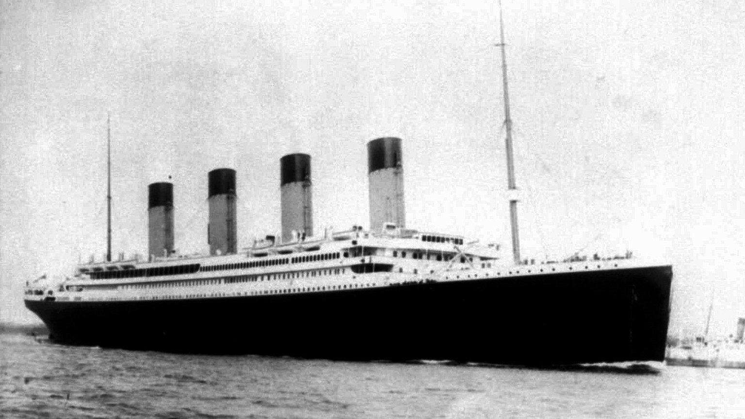 This undated photo shows the doomed liner the S.S. Titanic. April 15, 2012 is the 100th anniversary of the sinking of the Titanic, just five days after it left Southampton on its maiden voyage to New York.(AP Photo/PA,Files)