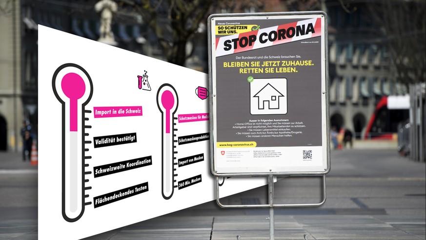 Coronavirus: Was die Schweiz für ein Ende des Lockdowns noch braucht