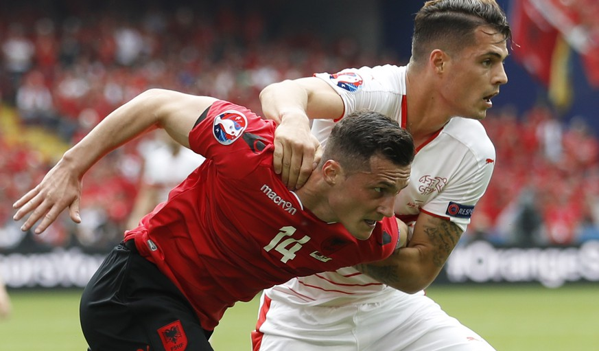 Football Soccer - Albania v Switzerland - EURO 2016 - Group A - Stade Bollaert-Delelis, Lens, France - 11/6/16