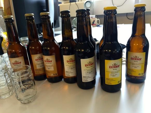 bier eichhof trinkspiel degustationsgläser