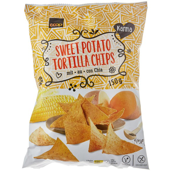 Karma Sweet Potato Tortilla Chips