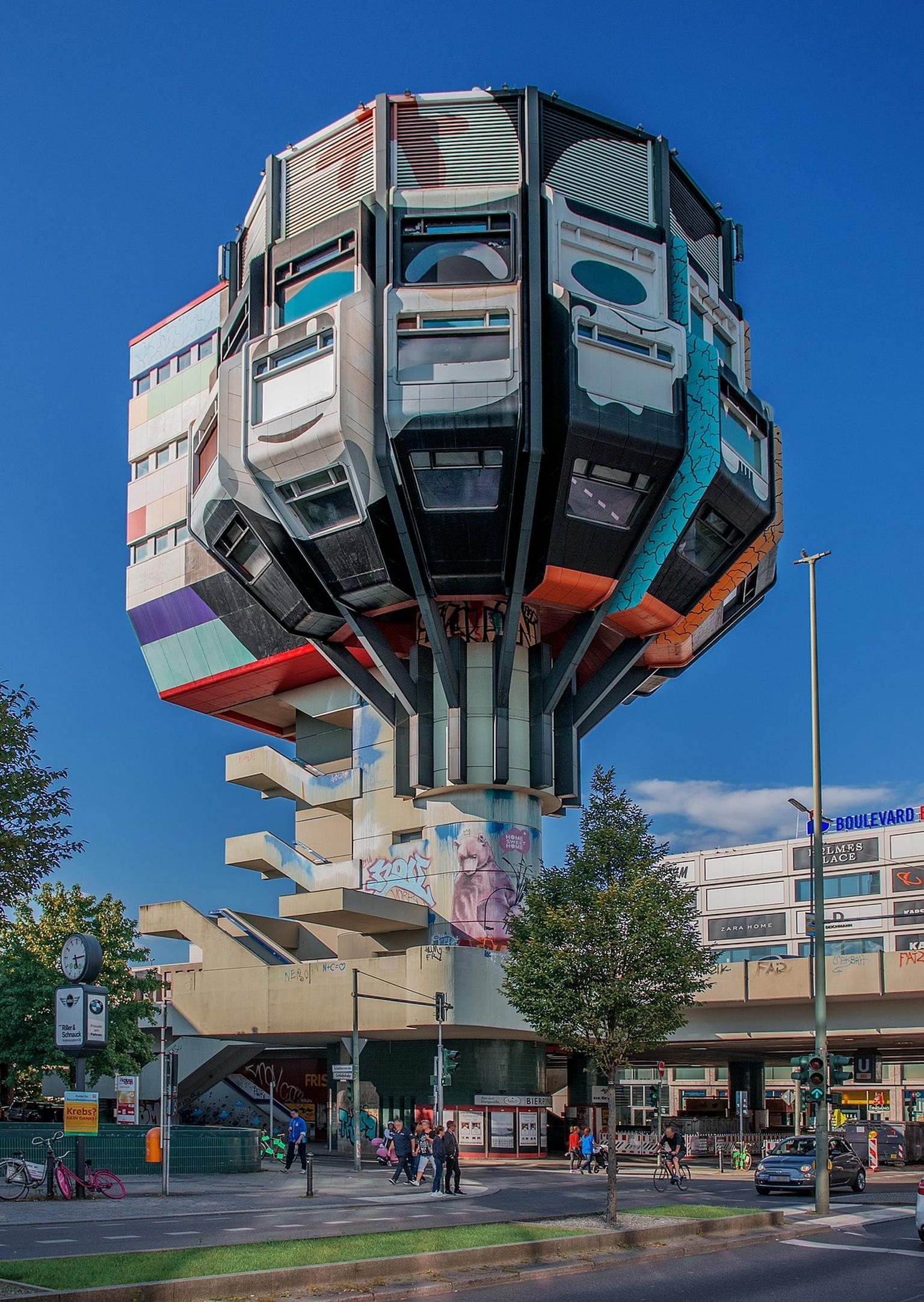 Eine Architektonische Ikone Steht In Berlin Zum Verkauf Die Bilder