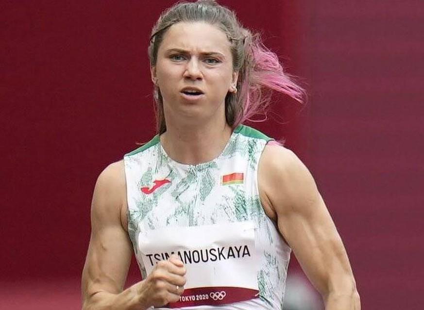 Kristina Timanowskaja: Die belarussische Sprinterin entging wohl nur knapp einer Entführung.