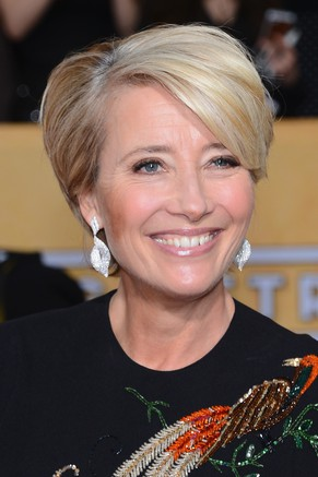 LOS ANGELES, CA - JANUARY 18:  Actress Emma Thompson attends the 20th Annual Screen Actors Guild Awards at The Shrine Auditorium on January 18, 2014 in Los Angeles, California.  (Photo by Ethan Miller/Getty Images)