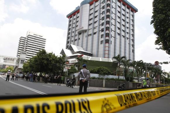 INDONESIA JAKARTA BOMB BLAST