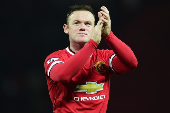 FILE - July 09, 2015: Footballer Wayne Rooney and his wife Coleen Rooney are expecting their third child, a sibling for Kai And Klay. MANCHESTER, ENGLAND - FEBRUARY 11:  Wayne Rooney of Manchester United celebrates after the Barclays Premier League match between Manchester United and Burnley at Old Trafford on February 11, 2015 in Manchester, England.  (Photo by Jamie McDonald/Getty Images)