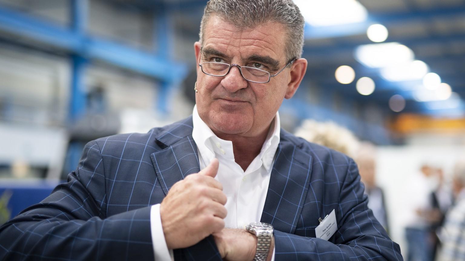 Stadler-Chef Peter Spuhler verliert einen Milliarden-Auftrag.