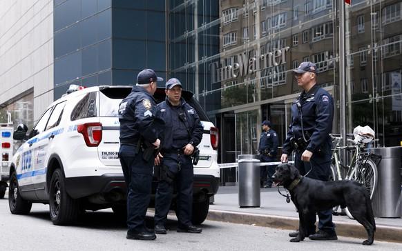 Bombendrohung: New Yorker CNN-Studio während Live-Sendung evakuiert
