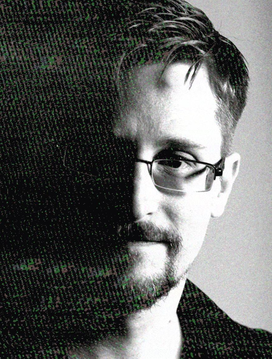 Edward Snowden ist zurück, um die Welt zu warnen