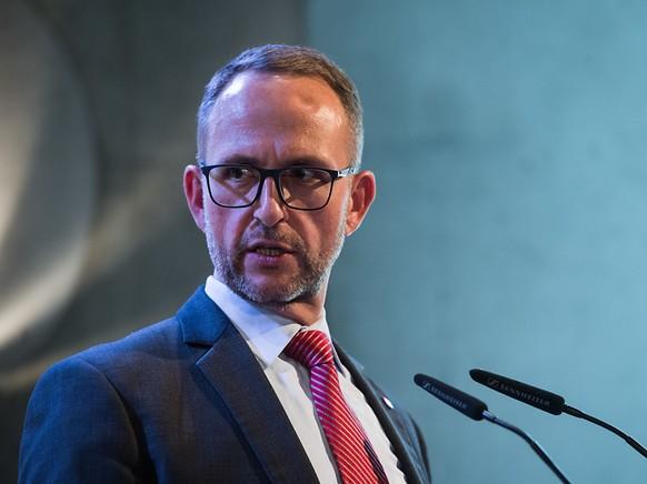 Steht in der Kritik: der Vorsteher des Tessiner Justiz- und Polizeidepartements Norman Gobbi.