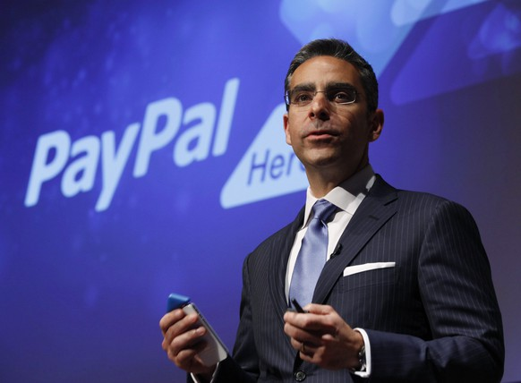 PayPal President David Marcus speaks during a news conference in Tokyo in this file photo from May 9, 2012. Marcus, who has led eBay Inc's fast-growing payments unit PayPal, will step down from the e-commerce company on June 27 to run Facebook Inc's messaging products, eBay said June 9, 2014. REUTERS/Yuriko Nakao/Files (JAPAN - Tags: BUSINESS TELECOMS SCIENCE TECHNOLOGY) - RTR31SMR