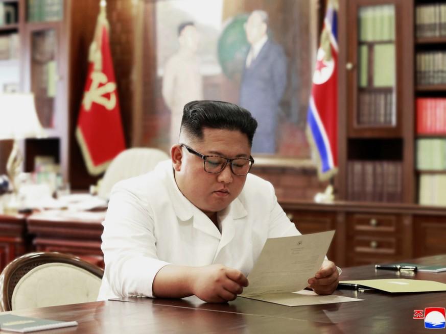 Nordkoreas Machthaber erhält Post von Trump