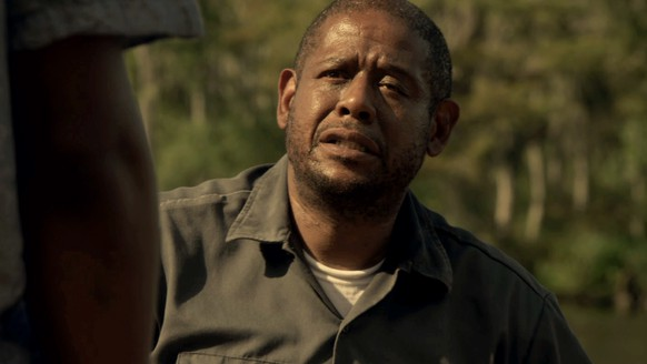 This photo provided by Codeblack Films shows Forest Whitaker, right, in a scene from the film,