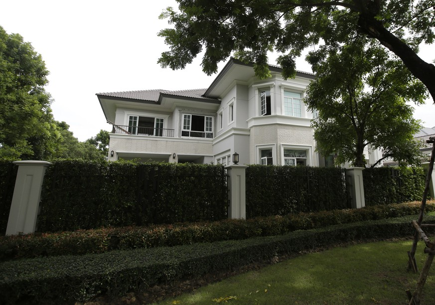 One of properties of AlphaBay founder Alexandre Cazes is seen in Bangkok, Thailand, Friday, July 21, 2017. The young Canadian Cazes accused of masterminding AlphaBay, the world's leading