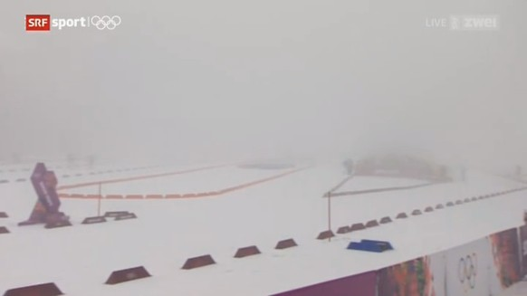 Laura biathlon center sotschi Nebel 2014