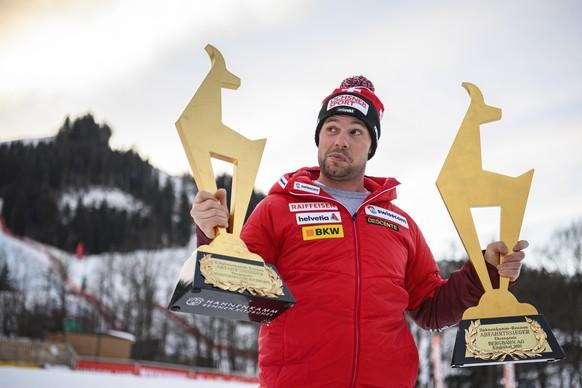 <strong>Abfahrt Männer:</strong> Beat Feuz triumphiert am <strong>24. Januar 2021</strong> zum zweiten Mal innert drei Tagen in Kitzbühel. Für den Abfahrts-Weltmeister von 2017 die Weltcupsiege 14 und 15.