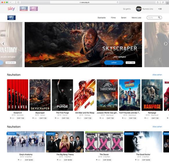 Sky Store Neues Vod Angebot Bringt 10000 Filme Und Serien Auf