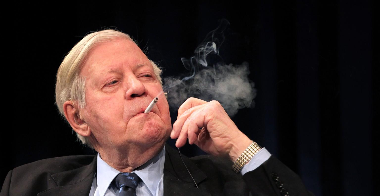 Helmut Schmidt Zigaretten