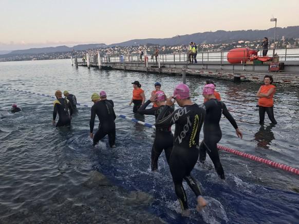 Gigathlon Zürich Schwimmen