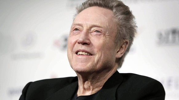epa06625951 (FILE) - US actor Christopher Walken smiles during a press conference at the 49th Sitges International Fantastic Film Festival, in Sitges, Barcelona, Spain, 13 October 2016 (reissued 24 March 2018). Christopher Walken turns 75 on 31 March 2018.  EPA/SUSSANA SAEZ