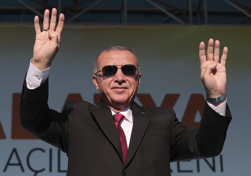 Erdogan: Verdoppelung der Zahl der türkischen Flüchtlinge in der Schweiz