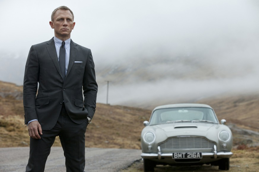 FILE - This undated handout file photo released by Columbia Pictures shows Daniel Craig as James Bond in the action adventure film,